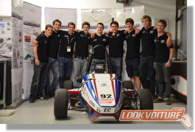 Les étudiants de l'ESTACA décrochent un trophée à Silverstone