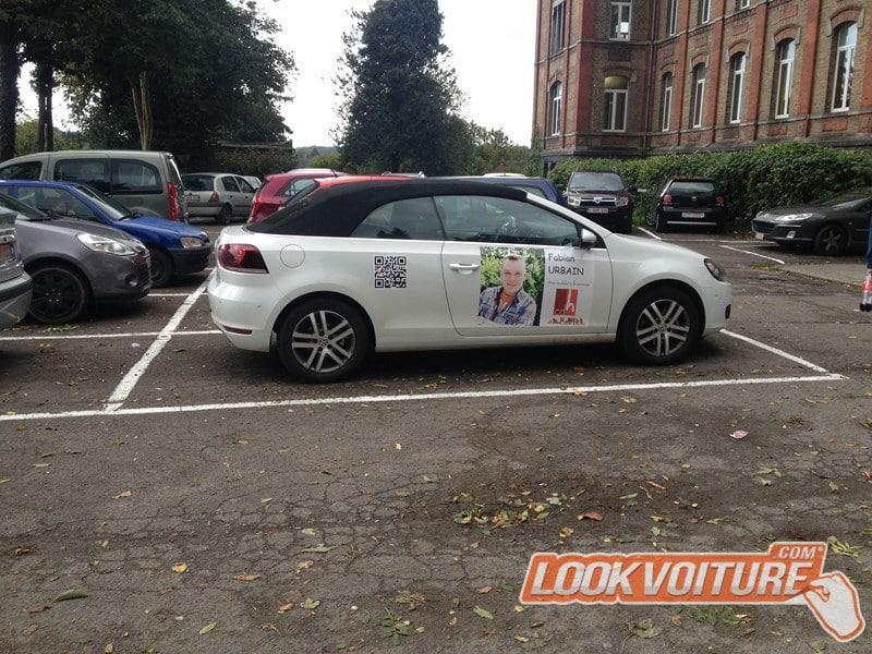 Stickers Voiture - Fabian En Belgique