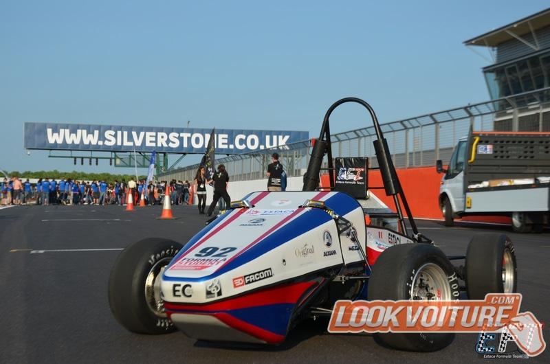 L'ESTACA décroche un trophée à Silverstone au Formula Student
