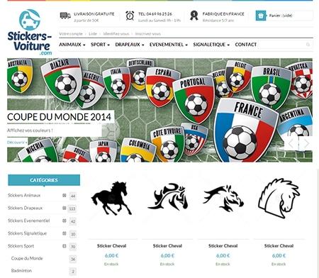 Lookvoiture.com lance Stickers-Voiture.com, le site des stickers voiture qui vous ressemblent
