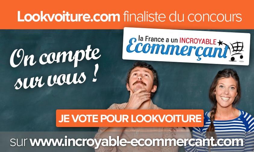 Lookvoiture finaliste : La France à un incroyable e-commerçant