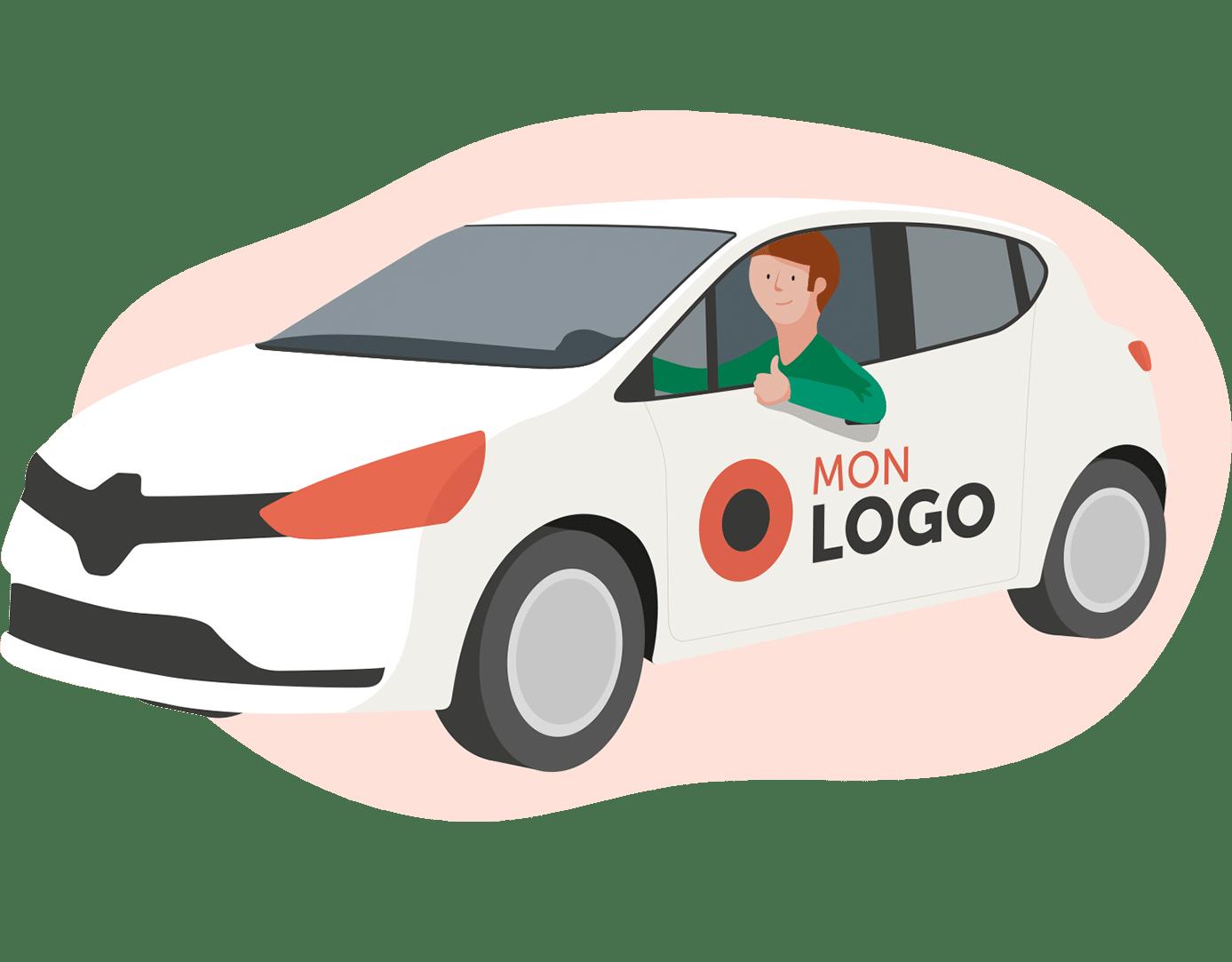 stickers voiture personnalisés rentabilité