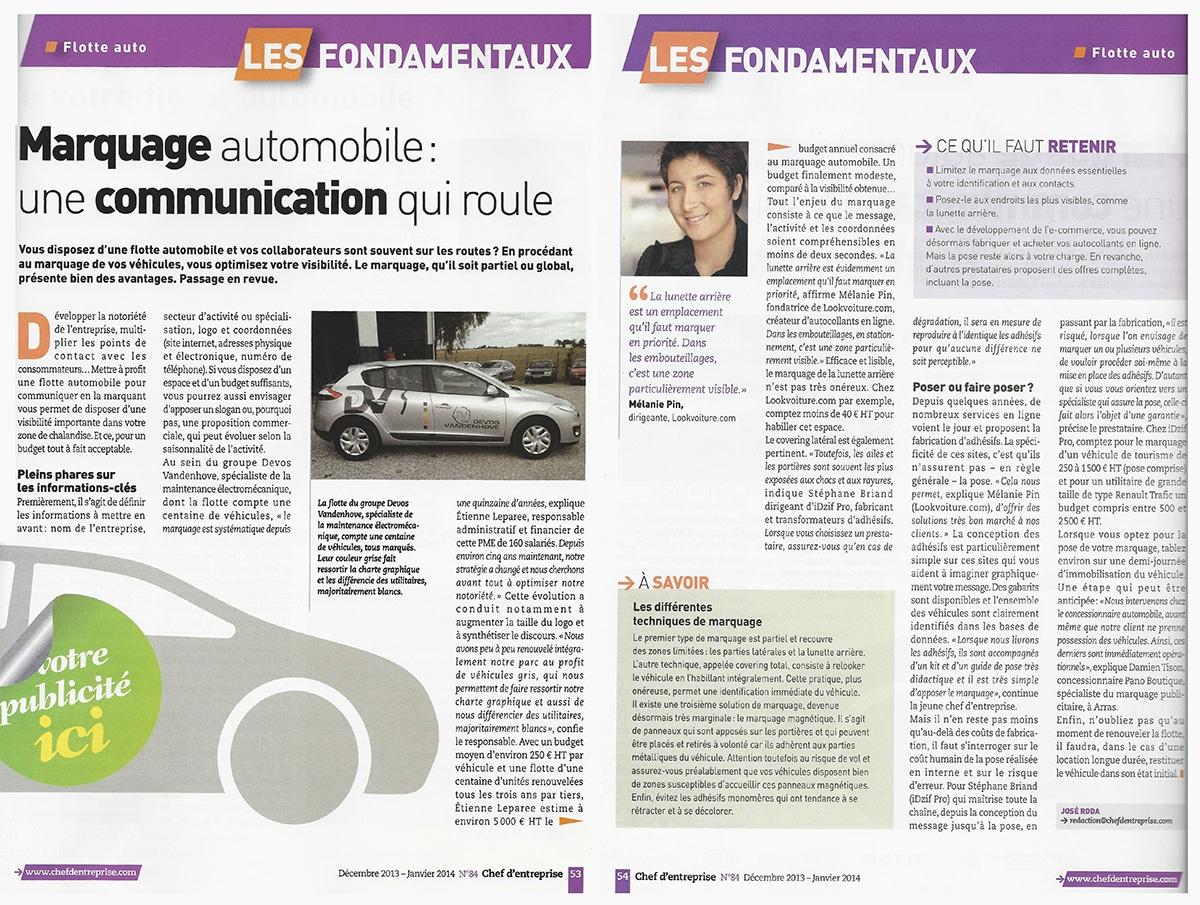 Autocollants voiture personnalisés - Une communication qui roule