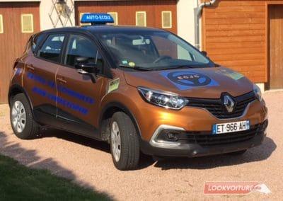 Renault captur floqué par Lookvoiture
